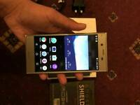 SonyXperia XZ platinum like new with extras