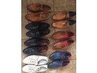 Various size 9 men's shoes