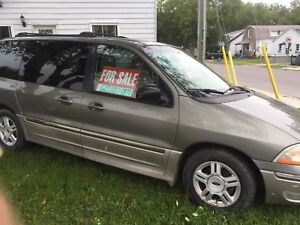 2002 Ford Windstar $999 as is