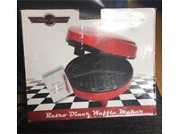 Retro Diner Waffle Maker