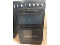 New Free standing Hotpoint Gas cooker
