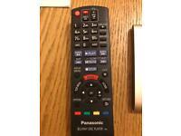 Panasonic blu ray player dmp-bdt230 with remote
