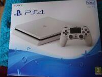 PS4 Slim 500GB Console - Glacier White BRAND NEW
