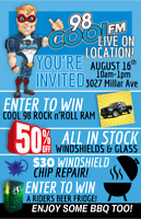 August 16, 10am - 1pm - BBQ - PRIZES - LIVE DEMONSTRATION