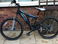 """24"""" Mountain Bike with dual suspension and disc brakes"""