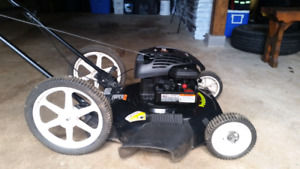 22 inch Poulan with briggs and stratton 4.7 hp