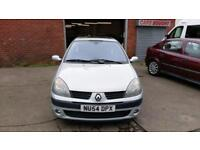 RENAULT CLIO 1.5 DIESEL DYNAMIQUE £20 YEAR TAX ALLOYS FULL TEST VERY ECONOMICAL