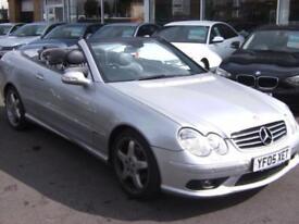 2005 Mercedes Benz CLK 320 Avantgarde 2dr Tip Auto 2 door Convertible