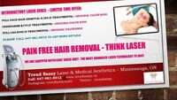 50% Off - Pain Free Laser Hair Removal - Value Deal