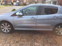 Peugeot 308hdi, 6 speed, 30,000 miles,fpsh