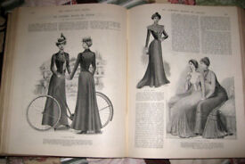 Oct 1899 to Sept 1900 bound volume of The Girls Own Paper,