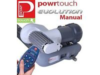 Powrtouch 'Evolution' single axle remote control caravan mover
