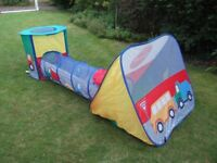 ELC Pop-up tent and tunnel combo