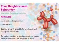 Your Neighborhood Babysitter - affordable care for your children