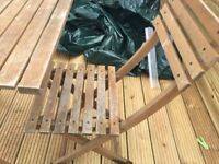 Small Garden table with 2 chairs