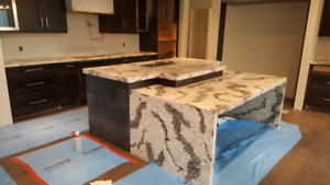 Granite marble  & quartz counter top , cabinets and tiles