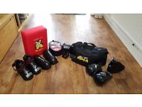 Martial Arts Sparing Gear + Pads (Small)