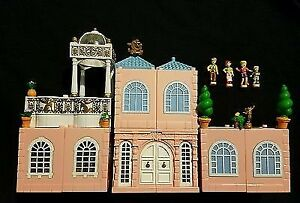 Vintage Polly pocket dream builders deluxe mansion