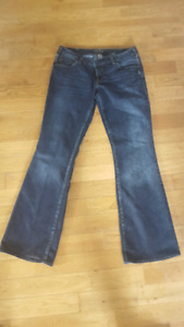 Silver Aiko Boot cut jeans