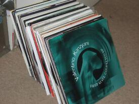"110 x 12"" Techno / Electro House Collection 1990 - 2000's"