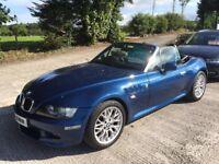 BMW Z3 2.2 Sport 2dr (blue) 2002