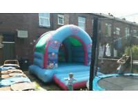 12ft pepa pig bouncy castles