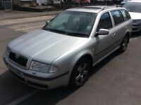 2002 Skoda Octavia 1.8 Turbo 4x4-January 2018 mot-px to clear