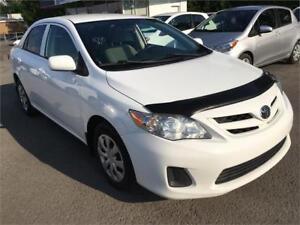 2012 Toyota Corolla CE A/C PORTES ELECT BLUETOOTH 92,000KM BLANC