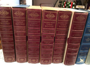 Readers Digest and other hardcover short story books