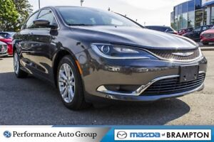 2016 Chrysler 200 Limited |ROOF|PWR SEAT|CRUISE CTRL|NAVI|ALLOYS