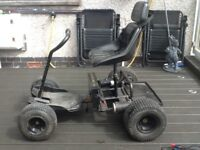 Powercaddy Discovery single seat golf buggy