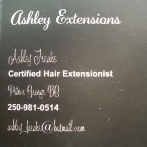 Certified hair extensionist, cheaper then a salon!