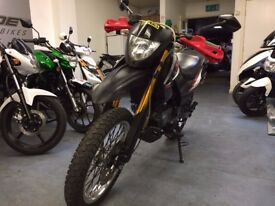 Keeway TX 125cc Supermoto, Sports Exhaust, Hand Guards, Good Condition, ** Finance Available **