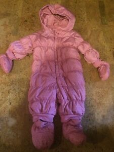 GIRLS winter snow suit