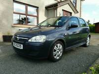 2006 Vauxhall Corsa 1.2 Active, 5dr, blue, long MOT, alloys,