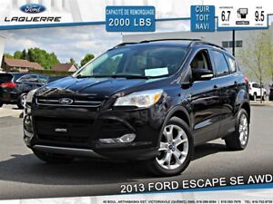 2013 Ford Escape SEL**AWD*CUIR*GPS*TOIT*A/C 2 ZONES**