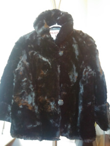 Moving - Island Furriers Ltd. Canadian Black Mink Fur Coats