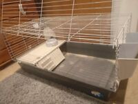 Rabbit And Guinea Pig Cage With An Opening Front, Accessories included