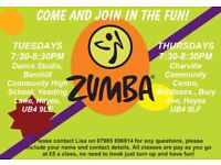 ZUMBA FITNESS FUN!! HAYS TUESDAYS & THURSDAYS 7:30-8:30PM