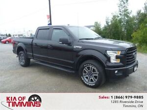 2016 Ford F-150 FX-4 5.0L Black on Black Navigation