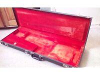 1973 fender stratocaster-telecaster hard shell case tolex mint condition, stunning!!😁