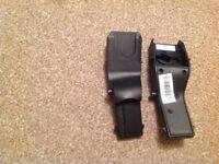 Maxi cosi car seat adapters for Silvercross pioneer