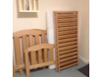 Mamas and Papas cot/first bed