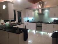 High gloss white Kitchen units