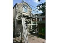 Youngman Boss alloy scaffold tower ,double width, 2.4m platform