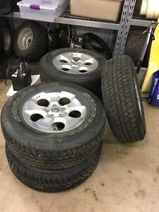 Used Jeep Wrangler rims and tires