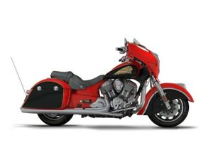 2017 Indian Chieftain Wildfire Red Over Thunder Black