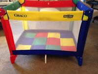 Graco Travel Cot - Playpen. Hardly used. Good condition. Grandma's spare. No pets or smoking house.