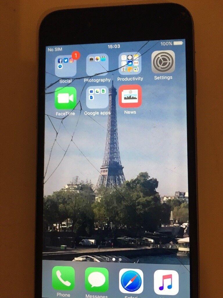 Iphone 6, o2 - needs screen replacing