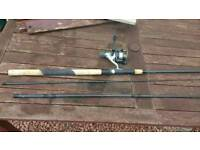 Fishing rod, reel, pole, tackle box etc